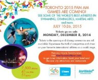 Toronto 2015 Pan Am/Parapan Am Games