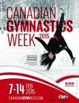 Canadian Gymnastics week Poster