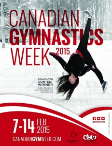 Canadian Gymnastics week Poster