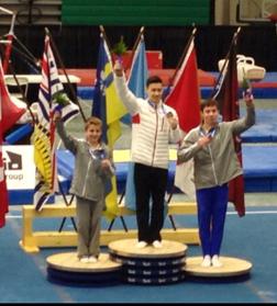 Justin Karstadt wins gold - all around
