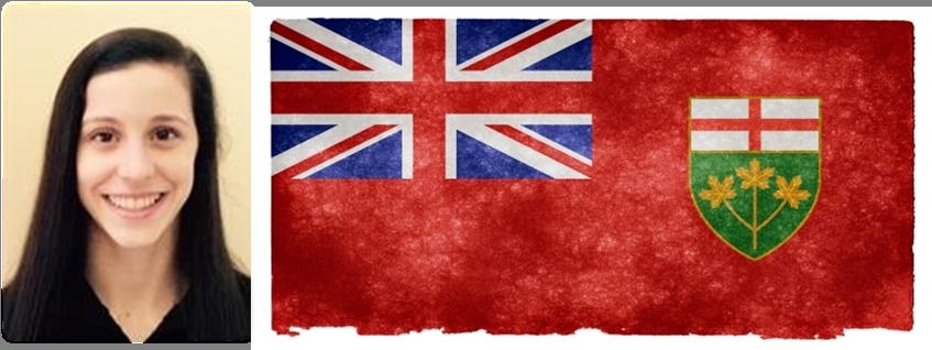Mariana Ontario Flag Bearer