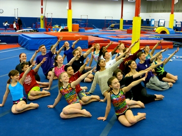 parks and recreation toronto gymnastics meet