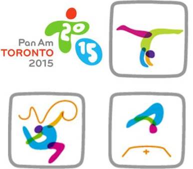 Pan Am - disciplines logo