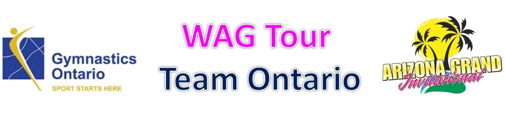 WAG Tour Team Ontario