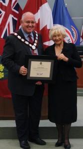 Mayor of Markham and EK