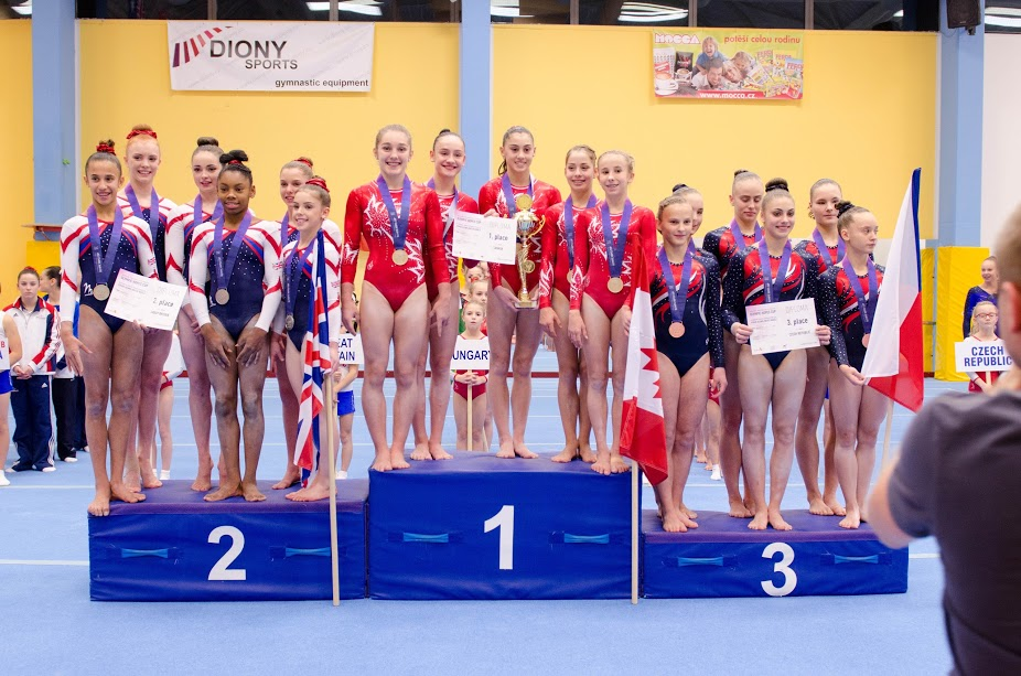 WAG Jr. Cdn Teams Competition - Olympic Hopes Cup