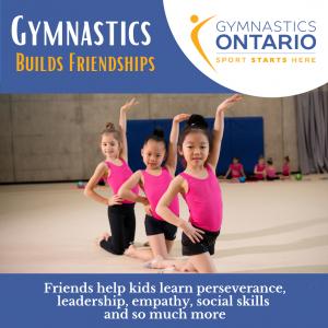 Gymnastics Builds Friendships