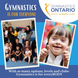 Gymnastics is for Everyone