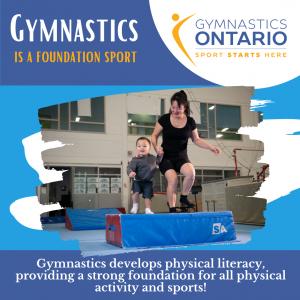Gymnastics is a Foundation Sport