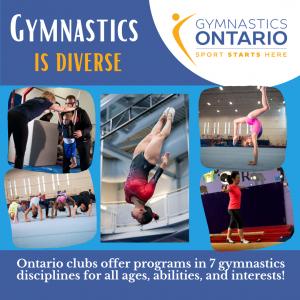 Gymnastics is Diverse